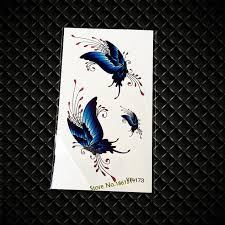 aliexpress com buy glitter blue flying butterfly pattern