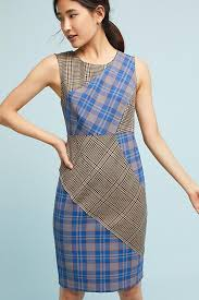 tracy reese plaid dress anthropologie