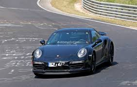 porsche 997 widebody next generation porsche 911 turbo test mule hits nurburgring a