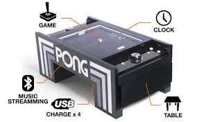 Table Topics Game by Arcade Heroes Atari Pong Table Project Picked Up By Unis For