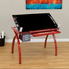 Oak Drafting Table by Studio Designs Kids Drafting Table With Toy Chest Color