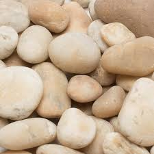 Large Pebbles For Garden Beach by Pebbles Landscape Rocks Hardscapes The Home Depot