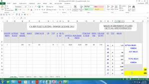 Mileage Spreadsheet Irp Software Baratta Enterprises 562 437 4447