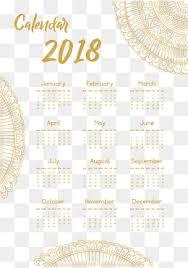 2018 desk calendar png images vectors and psd files free