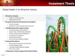 How Much Are Season Passes For Six Flags Six Flags Entertainment Six Presents At 17th Annual Oppenheimer