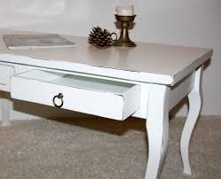 Wohnzimmertisch Vintage Selber Machen Massivholz Tisch Couchtisch Shabby Sofatisch Weiß Wohnzimmertisch