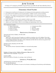 Elementary Education Resume Sample by Resume Examples Physical Education