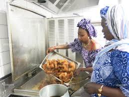 cuisine mauritanienne edition de dié vosges zoom sur la préparation d un repas