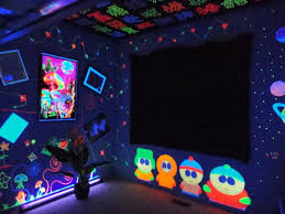 black light bedroom black light room decoration ideas lighting ideas