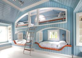 Bedroom Bunk Beds Separate Into Single Beds Gray And Yellow