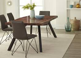 Living Edge Dining Table Mokuzai Live Edge Dining Table Natural Wood Table Haikudesigns Com