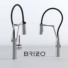 articulating kitchen faucet 3d brizo solna articulating kitchen faucet cgtrader