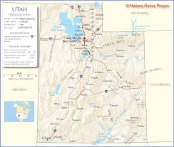 Map Of Utah And Nevada by Mountain States Travel Across The Usa