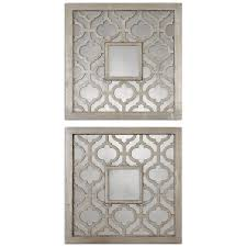 Wall Decor Mirror Home Accents Amazon Com Uttermost Sorbolo Mirror Squares 0 75 X 20 X 20