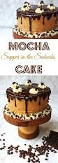 this stunning layer cake is my infamous mocha cake made with