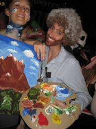 bob ross u0026 painting couple costumes6 7