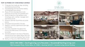 starling at nocatee top 10 perks of concierge living