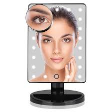 lighted makeup mirror reviews ki store led lighted makeup vanity mirror review makeupkitz