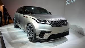 range rover silver interior range rover velar arrives this summer for 44 830