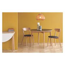 for sale round dining table suki 2 4 seat black folding round dining table buy now at habitat uk