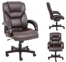Leather Chairs Office Barcalounger Neptune Ii Home Office Desk Chair Recliner Leather