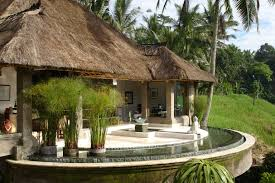 viceroy resort bali with with classic home with roof of palm fiber