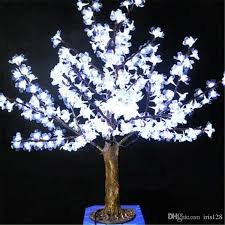 1m height outdoor artificial tree led cherry blossom