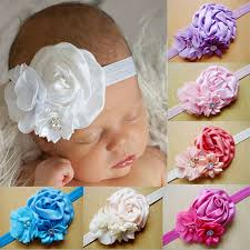 headband newborn hot baby headband newborn toddler flower girl lace christening