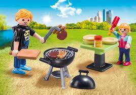 backyard barbecue carry case 5649 playmobil usa