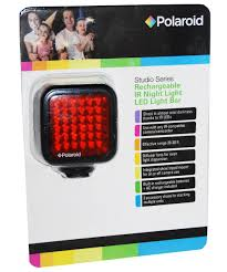 Led Light Bar Lens Cover by Amazon Com Polaroid Studio Series Rechargeable Ir Night Light 36