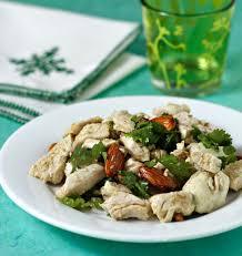 poulet aux citrons confits cuisine salade de poulet au citron confit coriandre et amandes les