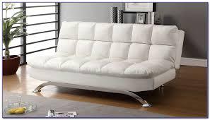white leather futon sofa bed sofas home design ideas z8jmaybjmo