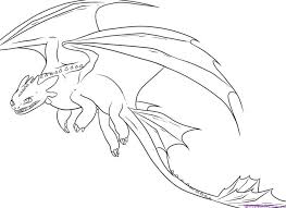 cartoon how to train your dragon coloring pages online picture