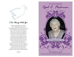 funeral memorial programs material graphics unique photo memorial guestbook