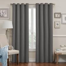 Eclipse Kendall Curtains Eclipse Round And Round Blackout Window Curtain Panel Free