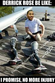 Rose Memes - 24 best memes of derrick rose getting injured again latest sports news