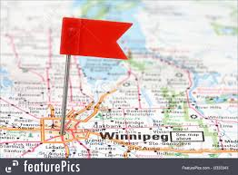 Winnipeg Map Winnipeg On Canada Map Canada Map