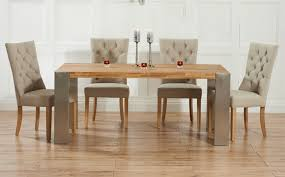 fabulous oak dining table and chairs with oak dining room table