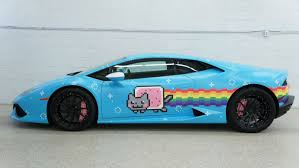 Lamborghini Huracan Ugly - you can buy deadmau5 u0027s nyan cat themed lamborghini huracan right