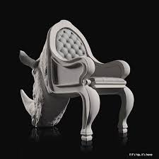 Rhino Chair Animal Chairs By Maximo Riera Now In Colors
