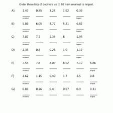 decimals worksheets dynamically created decimal worksheets kelpies