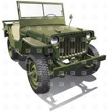 jeep old truck old army jeep vector clipart image 6116 u2013 rfclipart