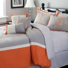 Orange And White Comforter Set Orange Comforter Sets For Less Overstock Com
