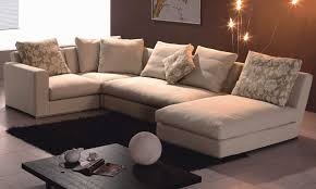 Sofas And Sectionals by Cloth Leather Sectionals Sofas 14 Appealing Cloth Sectional Sofa
