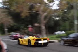 porsche ferrari watch as a laferrari and porsche 911 gt3 are trashed by morons