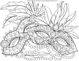 mardi gras coloring pages the arts printable coloring pages