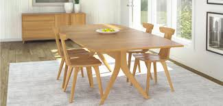 Contemporary Wood Dining Room Sets Catalina Dining Furniture By Copeland Vermont Woods Studios