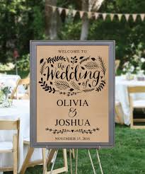 diy wedding signs diy printable rustic wedding welcome sign diy rustic wedding