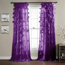 Purple Ombre Curtains Purple Curtains Walmart 1130