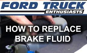 Old Ford Truck Brake Parts - how to replace brake fluid in a ford f 150 f 250 truck youtube